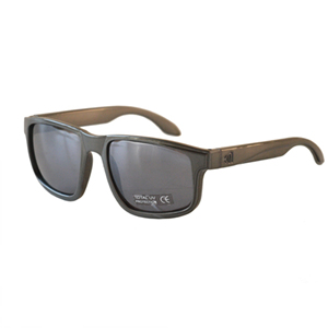 [NANNINI] NYC-ONE / Glossy Charcoal-Silver Mirror Lens